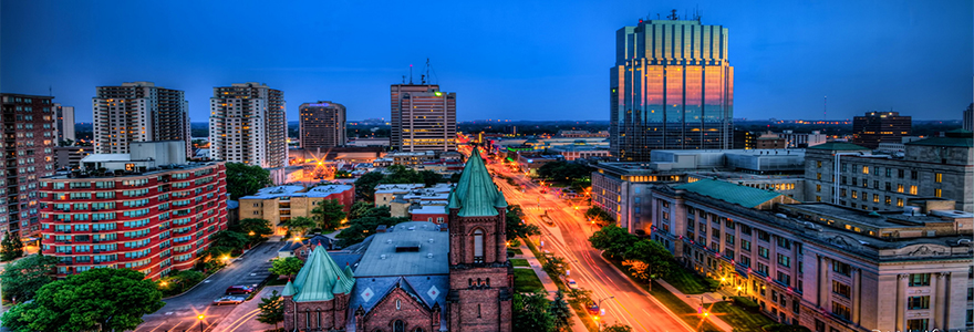 London Ontario Cityscape