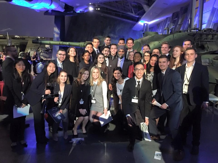 Students at NATO 2016 Conference